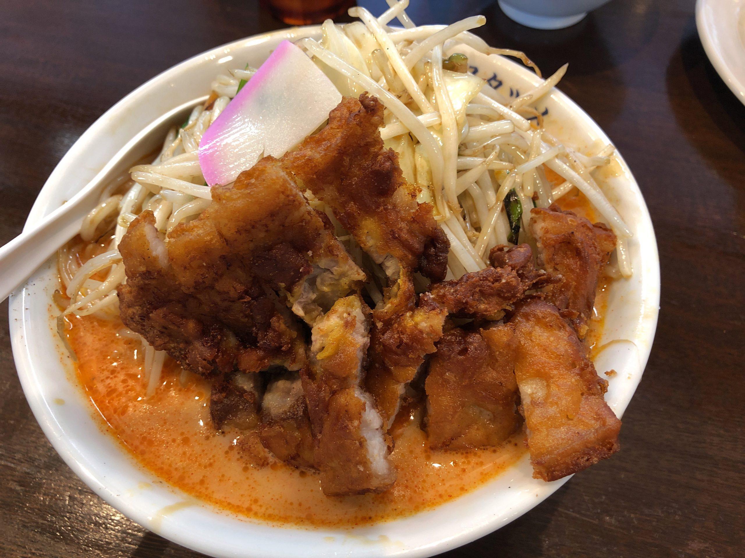 群馬・新潟で人気の「フタツメ」が12月10日に宇都宮越戸店をオープン、人気の排骨麺と特大唐揚げを食べてきた
