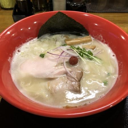 鹿沼市千渡、中華そば「みはし」にて一日限定メニュー「鶏白湯ラーメン」を食べてきた 鶏の旨味が凝縮された一杯は感動の一言