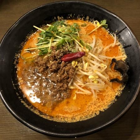 担々麺専門店「タンタン本舗」の新作、宇都宮で一番辛い担々麺「ドラゴンブレス担々麺(火龍)」に初挑戦 激辛担々麺に汗だくになること間違いなし