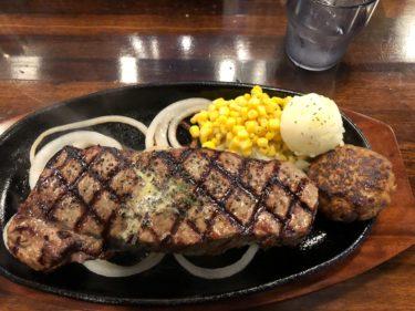 肉の日限定企画「ステーキジャンキー」にて、600gの超巨大ステーキを頼んでみた