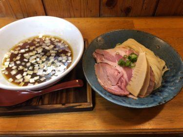 宇都宮徳次郎「麺栞みかさ」 鯵で出汁を取った「鯵干物と煮干しつけめん」を食べてきた