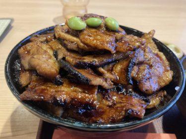 宇都宮宮の内「帯広豚丼 太助」再び お肉たっぷり豪華な豚丼は一見の価値あり
