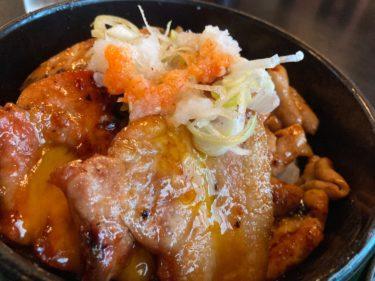 鹿沼市御成橋町「食処きん太」 がっつり男飯!「おれ丼」なるものを食べてきた