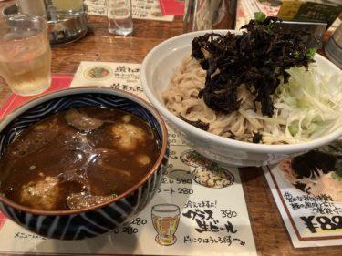 宇都宮中央通り「鶏そばHIBARI」 キノコの出汁たっぷり!季節限定「ちたけ蕎麦」を食べてきた