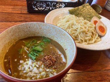 鹿沼環状線沿い「麺屋さんじ」でカレーラーメン♪ とろとろカレーに魚介が効いた絶品スープ