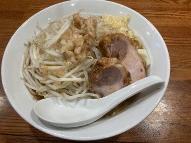 西川田本町「俊麺製麺所」がG系ラーメンを開始 麺量100gから、初心者でも挑戦しやすい二郎系らーめん