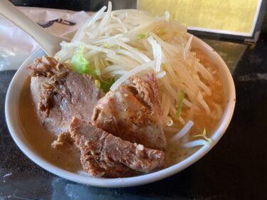 栃木市のG系ラーメン店「若旦那」に初訪問 総重量1.1kgのボリュームは腹パン必至